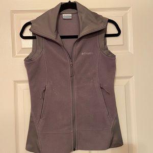 Columbia fleece vest Grey XS